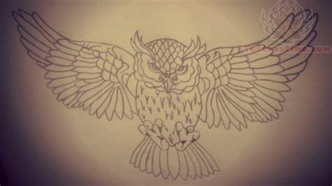 flying owl tattoo design 28 flying owl tattoo designs