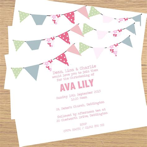 Diy Wedding Invitation Sles by Christening Invitations Philippines Sles Style By