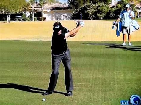 phil mickelson iron swing phil mickelson swing vision iron youtube