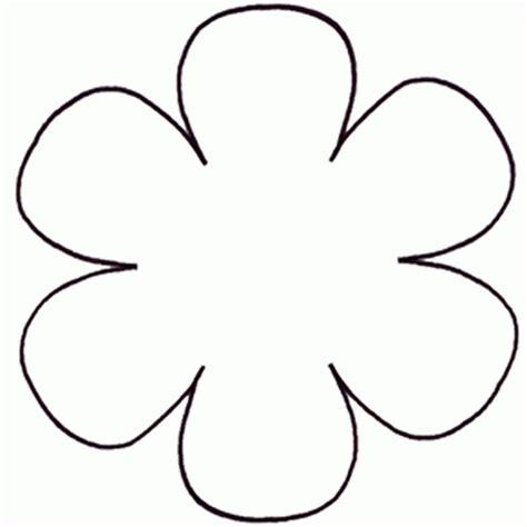 6 petal flower template 4 petal flower template printable fcbihor