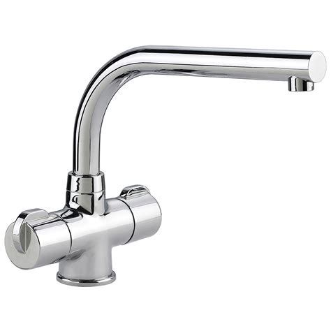 taps for kitchen sinks rangemaster aquadisc 3 monobloc dual handle kitchen sink