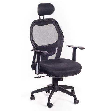 sedia studio sedia poltrona da ufficio ergonomica hub nera san marco