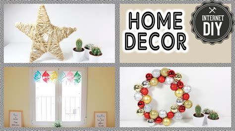 manualidades faciles para casa 3 manualidades f 225 ciles para decorar tu casa en navidad