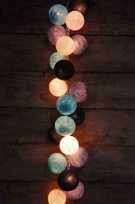 cotton ball string lights best 25 ball lights ideas on pinterest