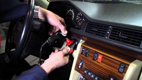 unstick  stuck ignition key