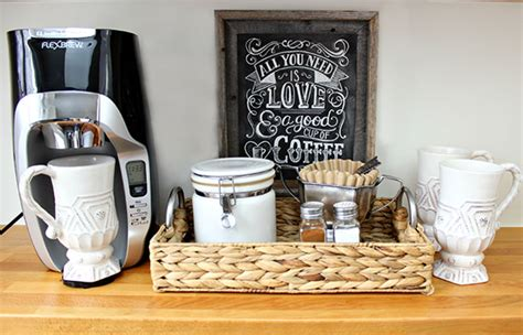 Coffe Decoration by Creating A Coffee Nook With Driven By Decor