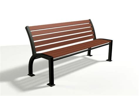 bench 3d model park bench 3d other cgtrader