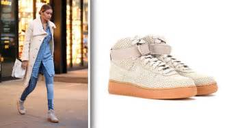 Most Comfortable Nike Shoe Gigi Hadid Nike Sneakers Nike Air Force 1 Suede High Top