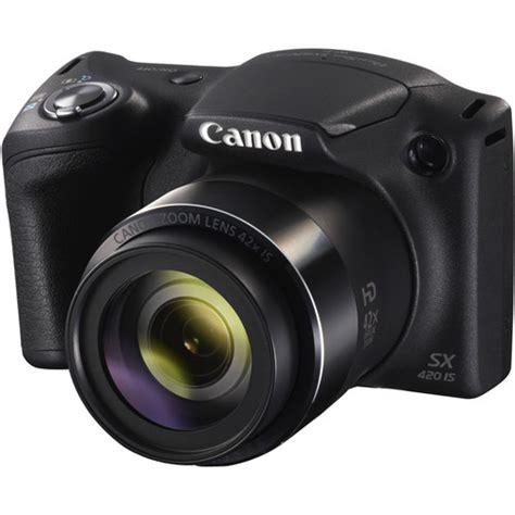 canon powershot digital canon powershot sx420 is digital black 1068c001 b h