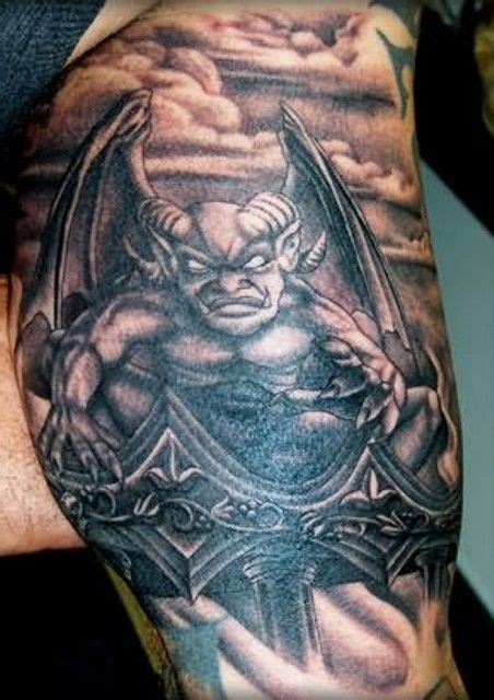 gargoyle tattoo meaning gargoyle tattoos tatt and