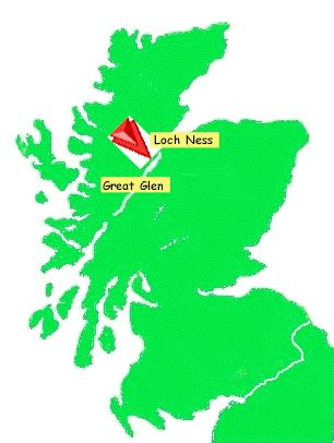 loch ness map loch ness lake scotland map www pixshark images