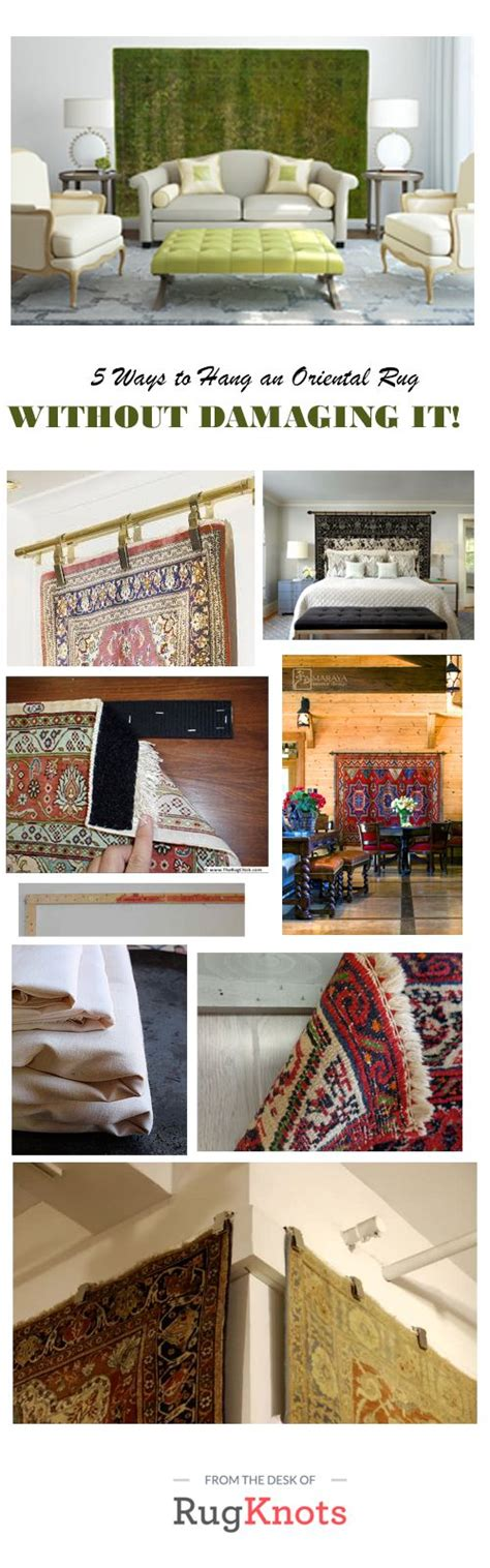 best way to hang pictures without damaging the wall 5 ways to hang an oriental rug without damaging it