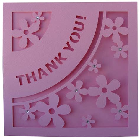 thank you card template 4 cuts placement digital by daniela angelova quot thank you quot card