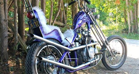 Honda Choppers by Honda Cb450 Chopper Stones Cycles Bikermetric