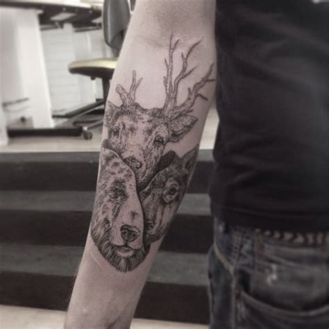 tattoo inspiration animals otto d ambra new animals collage tattoos etching