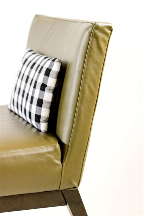Diy leather upholstery slipcover for your furniture shelterness