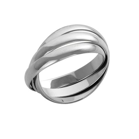 18ct white gold russian wedding rings 18ct white gold