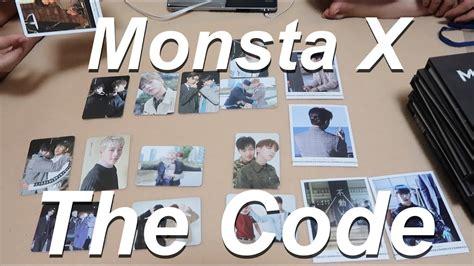 Monsta X The Code De Code Ver No Poster monsta x the code album unboxing 6 versions