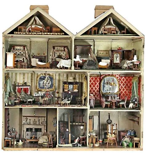 vintage dolls house 373 best antique vintage dolls houses miniatures images on pinterest