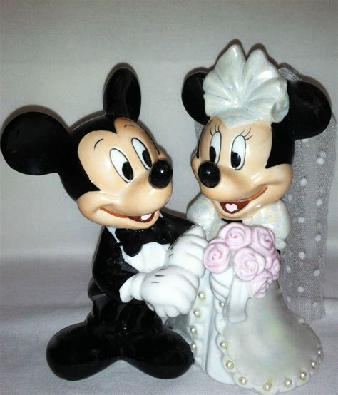 mickey and minnie mouse wedding decorations mickey and minnie mouse wedding cake topper a unique and