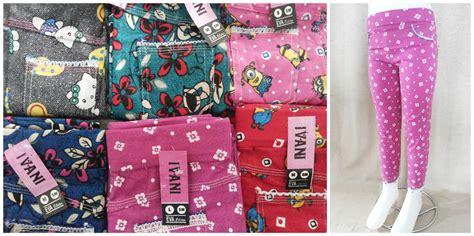 Celana Anak Murah S M L Serian grosir legging bahan untuk anak 15ribu