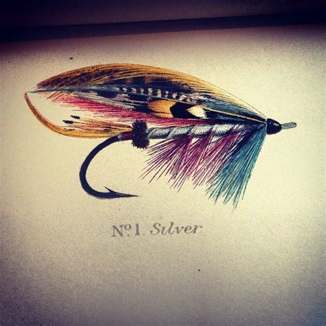 fly fishing tattoo designs silver fly fishing ideas fly