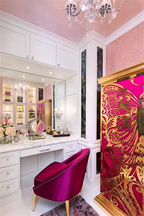 Bravo Interior Design by Bravo Interior Design Watermelon Colored Dressing