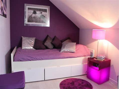 Chambre Violet Et Blanc Pour Ados by Photos D 233 Coration De Chambre D Ado Fille Moderne Design