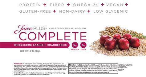 Complete Bar Juice Plus Complete Nutritional Bar
