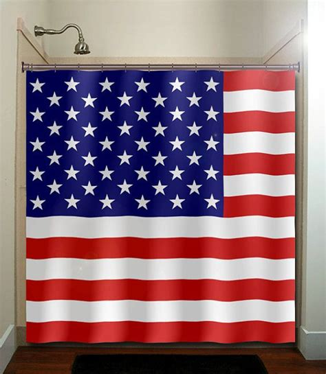 united states shower curtain america united states usa flag shower curtain bathroom