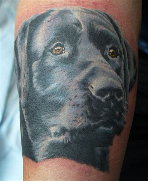 black lab tattoo the 19 coolest labrador designs in the world