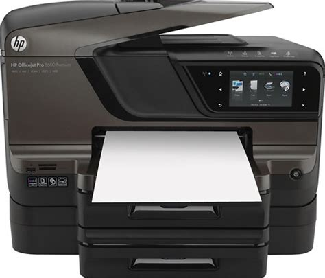 Printer Hp Officejet Pro 8600 Plus E All In One hp officejet pro 8600 premium network ready wireless e all
