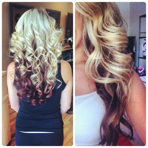 blonde highlight red on bottom new hair styles for girls bridal hairstyle of the day