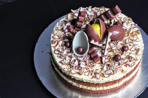 kuchen kinderschokolade torten verzieren eischnee rezepte zum kochen kuchen