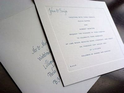 Wedding Invitation Unmarried Not Living Together by Invitation Etiquette The Region S Preferred Wedding Magazine