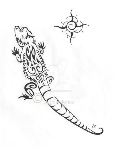 bearded dragon tattoo designs bowser the bearded by jaguarjones on deviantart