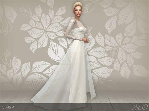 Dress Big Salur Cc my sims 4 wedding dress 28 v 1 2 by beo