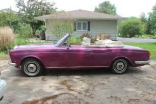 73 Rolls Royce Buy Used 1972 73 Rolls Royce Corniche Convertible In Elgin