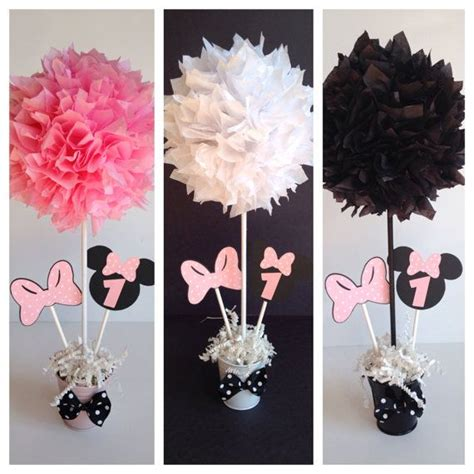 Minnie Mouse Decorations Diy by Minnie Mouse Birthday Decoration Light Pink By