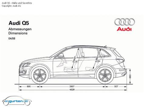 Audi Q5 Gewicht by Foto Bild Audi Q5 Ma 223 E Und Gewichte Angurten De