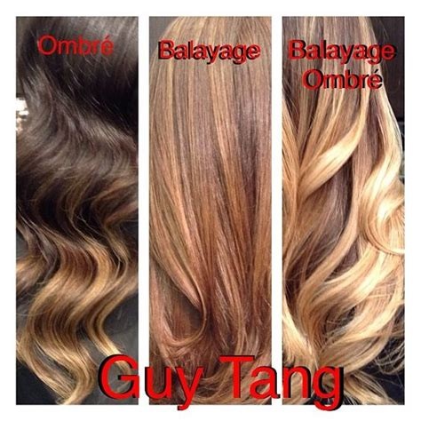 the difference between foiling balayage ombre and the pinterest the world s catalog of ideas