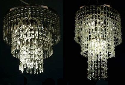 Battery Operated Chandeliers Battery Operated Hanging Chandelier Lite Kit 32 Led S Buy Now