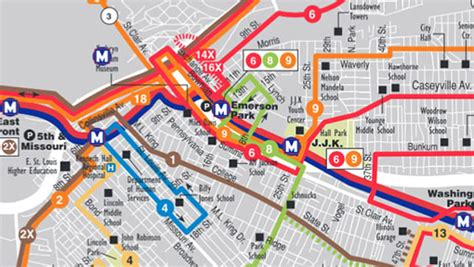 missouri amtrak map system maps metro transit st louis