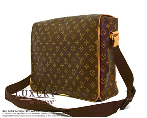 authentic louis vuitton monogram abbesses messenger bag