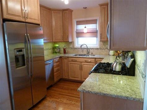 natural maple cabinets with granite countertops cabinets giallo ornamental granite and maple cabinets on