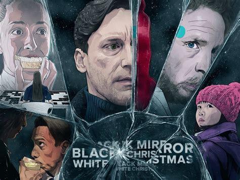 black mirror white christmas nonton black mirror white christmas an art print by infinite