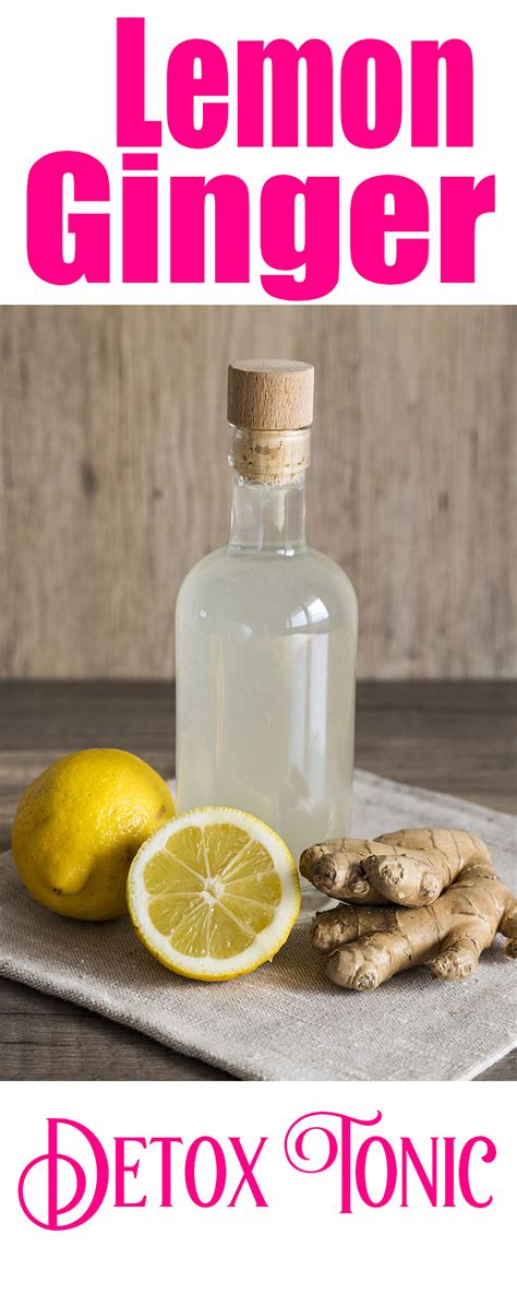 Detox Nauseated by Lemon Water Detox Tonic