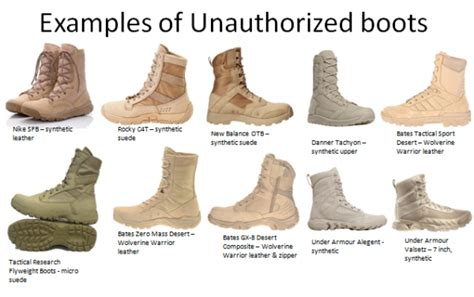 sma chandler clarifies what boots soldiers can wear