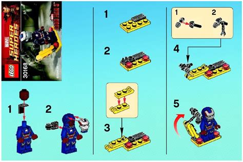Lego Heroes 30168 Gun Mounting System Polybag marvel heros lego gun mounting system 30168 marvel heros