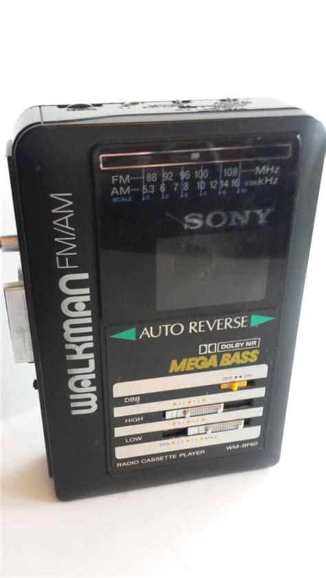 sony walkman cassette vintage 90s sony fm am cassette player walkman mega base